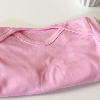 Baby Pink Personalised Romper – www.sewsian.com
