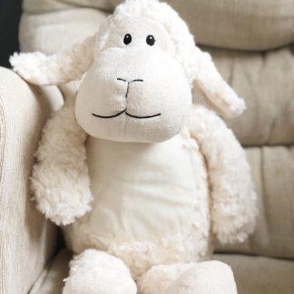 Personalised Lala The Lamb Soft Toy – www.sewsian.com