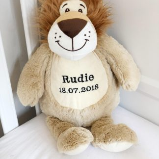 Personalised Leo The Lion Soft Toy – www.sewsian.com