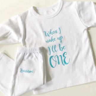 First Birthday Pyjamas – www.sewsian.com