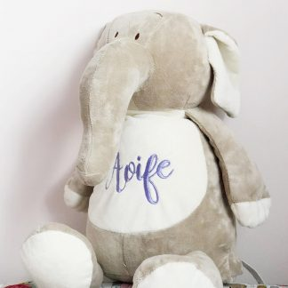 Personalised Nelly The Elephant Soft Toy – www.sewsian.com
