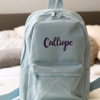 Personalised Child's Backpack – www.sewsian.com