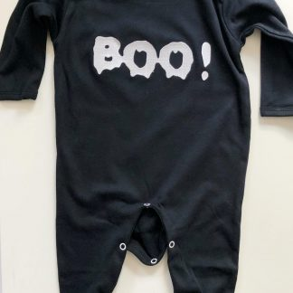 Black 'Boo' Rompersuit – www.sewsian.com