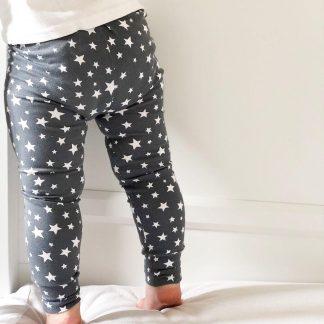 Children's Grey Star Leggings – www.sewsian.com