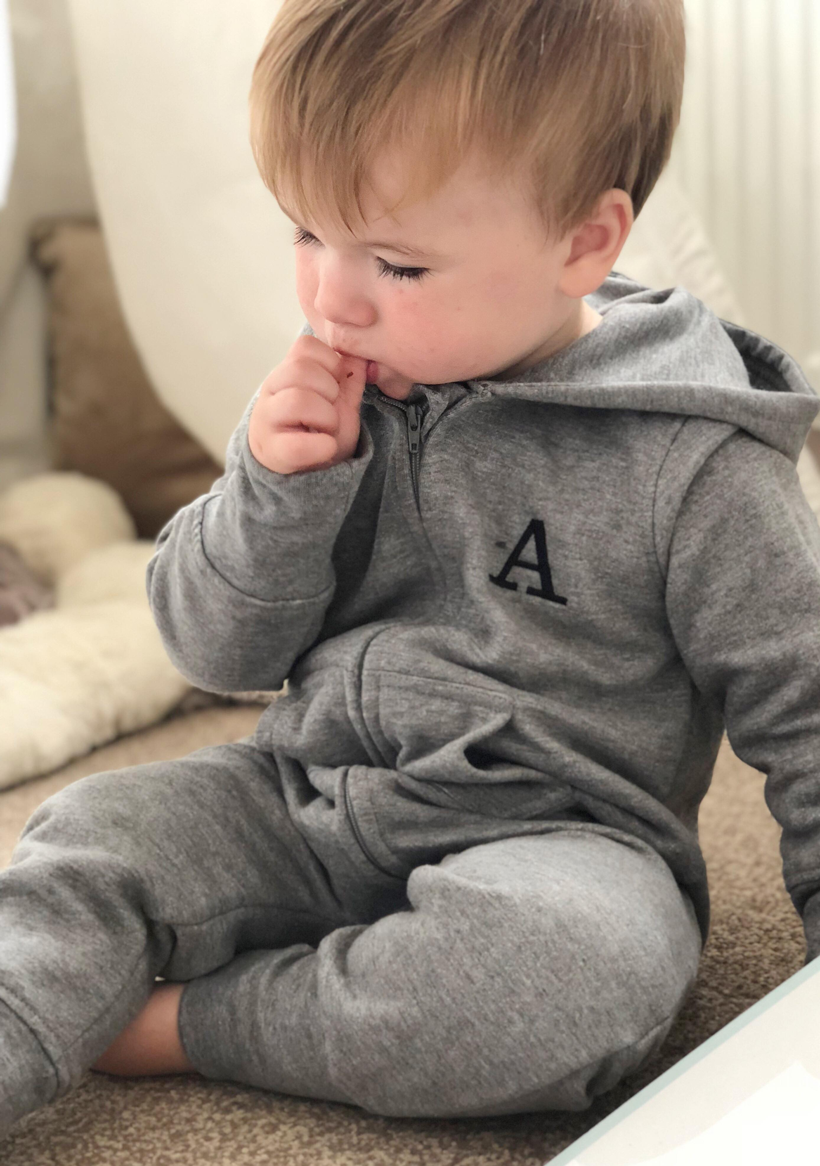 3e860254a0db Personalised Fleece Onesie - Sew Sian