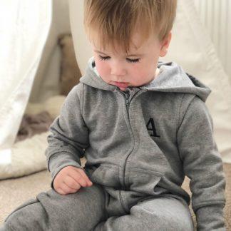 Personalised Fleece Onesie – www.sewsian.com