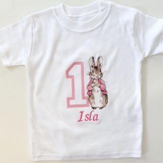 Outlet Personalised Isla Peter Rabbit T-Shirt – www.sewsian.com