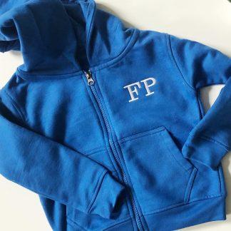 Personalised Zip-Up Children's Hoodie – www.sewsian.com