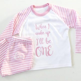 Striped Birthday Pyjamas – www.sewsian.com