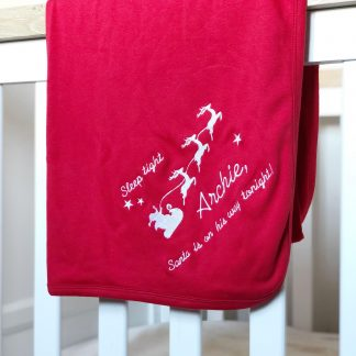 Personalised Christmas Eve Blanket – www.sewsian.com