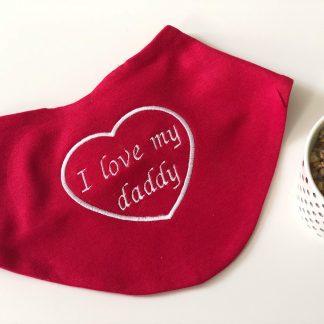 I Love My Daddy Bib – www.sewsian.com