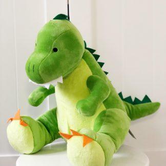 Personalised Earl The Dinosaur Soft Toy – www.sewsian.com