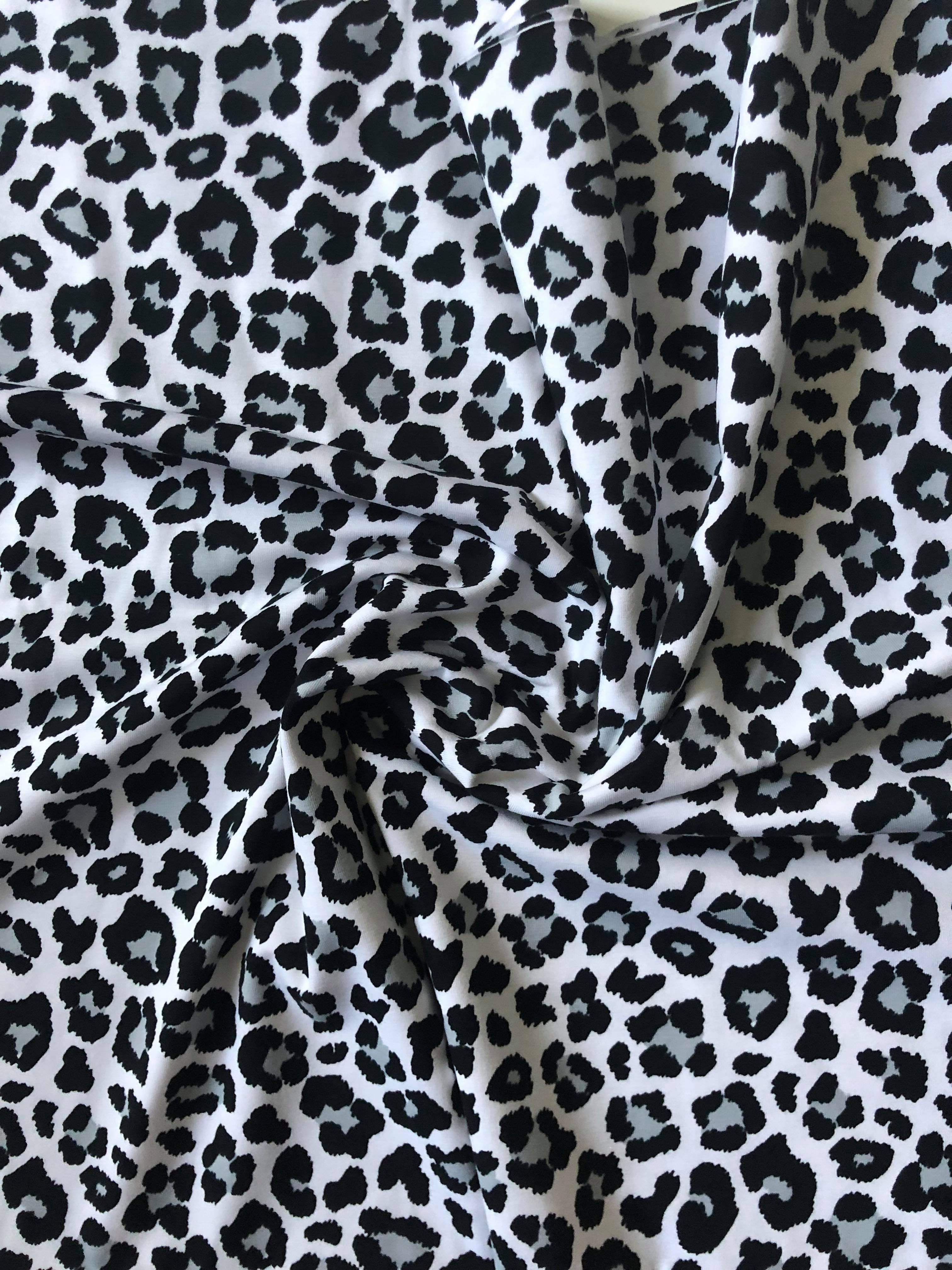6ddb96dc803676 Children's White Leopard Print Leggings - Sew Sian